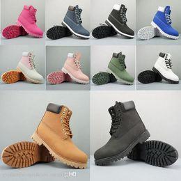 2019 Designer di lusso di marca stivali per uomo donna Womens Tbl nero bianco rosso Camo Cowboy inverno stivali lavoro piattaforma di caviglia per l'escursionismo da