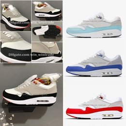 buy popular 3565f d79ae Free Shipping size 36-45 Men Women Maxes 1 Anniversary 87 Undercover Running  Casual Shoes Animal Pack 1s 87s Classic Zapatos Trainers discount max 87  shoes