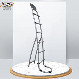 o metal desmonta, suporte de exposição da dobra para a cremalheira de exposição revestida pó do cabo para as prateleiras de exposição do metal do papel de parede de Fornecedores de expositores de design