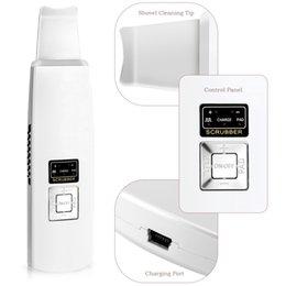 Liberação! 100% SY - 024 Ultrasonic purificador da pele Facial Cuidados Espátula Massager de Fornecedores de silicone de qualidade