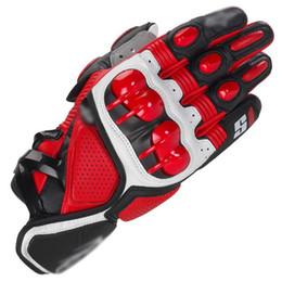 2019 красные желтые мотоциклетные перчатки Горячие продажи взрослых S1 мото мотоцикл перчатки гонки перчатки / внедорожные перчатки топ кожа мотоцикл рыцарь защитные перчатки M L XL