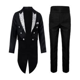 Esmoquin de ajuste europeo online-LASPERAL 2018 Moda masculina europea Nuevo estilo para hombre Vestido de smoking Botón Formal Slim Fit 2 piezas traje chaqueta de cena