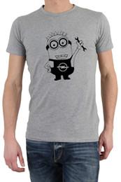 Divertido Factory Outlet Minion T-Shirt Gran regalo Presente Idea Para  Factory Outlet Propietarios Camisetas Camisa de marca para hombre Ropa de  manga corta ... 52dab520079