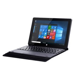 "2in1 laptop tablet Promo Codes - 10.1"" 2in1 IPS Touchscreen Tablet PC Intel Celeron N4000 Dual Core Ultrabook 4GB RAM 64GB ROM laptop Computer with keyboard"