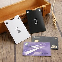 Защитный кошелек онлайн-Portable Anti Rfid Wallet Blocking Reader Lock Bank Card Holder Id Bank Card Case Protection  Aluminium