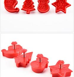 Mutfak malzemeleri Pişirme araçları Bisküvi kalıpları Kek kalıbı Noel Güzel desen die Dört setleri Plastik Bahar 2 8dc k1 cheap plastic dies nereden plastik kalıpları tedarikçiler