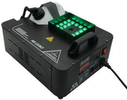 Máquina de niebla etapa online-24 * 3w RGB LED máquina de humo dmx pulverización Máquina de humo vertical 1500w efecto de escenario Fogger Machine For Party Club decoraciones de Halloween LLFA