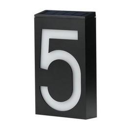 хорошее качество Сид чисел lumilous адрес номера солнечный свет дом от Поставщики экранное оборудование