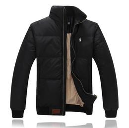 Chaqueta informal de negocios online-2020 nuevos de Paul hacia abajo collar vertical del invierno de los hombres de la chaqueta espesa abajo de la capa de negocios de moda casual chaqueta
