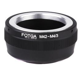 Lens Adaptörü Dağı Halkası M42 Lens için Mikro 4/3 Dağı Kamera Olympus Panasonic DSLR Kameralar nereden