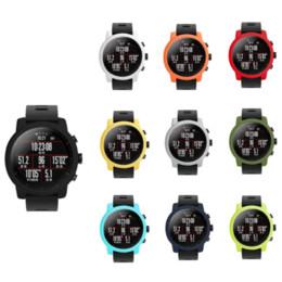 Cubierta protectora de silicona premium para Huami Amazfit Stratos 2 / 2S Funda blanda de marco completo Cubierta protectora Accesorios de reloj inteligente desde fabricantes