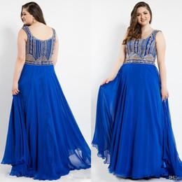 2019 вечерние платья 2019 плюс размер платья выпускного вечера Bateau декольте без рукавов Дешевые вечерние платья длиной до пола, бисером вечернее платье дешево вечерние платья