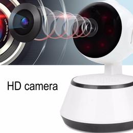 lautsprecher optisch Rabatt Babyfoon Draagbare WiFi IP-Kamera 720 p HD Baby-Kamera-Audio-Videoaufzeichnungs-Überwachungskamera für zu Hause