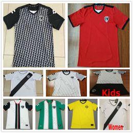Красный майка молодежный футбол онлайн-2019 2020 Liga Mx Club de Cuervos футбольные майки домой зеленый белый красный обычай 19 20 человек женщина дети молодежный футбол Джерси рубашка