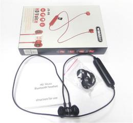 Caja de musica de cargador online-2019 nuevos auriculares JX-X6HD Bluetooth para auriculares inalámbricos para auriculares de música estéreo con cargador magnético táctil artículo caliente