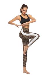 Giacche nere disegni online-2019 Nuovi pantaloni da donna sexy Leggings con design a rete gotica Pantaloni da yoga Pantaloni da palestra neri Slim Fitness Sportswear Pantaloni sportivi stampati con leggings femminili