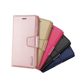 Argentina Funda de cuero de lujo Hanman con soporte para billetera Funda con soporte para iPhone 11 pro XR XS MAX X 8 7 6 Samsung S9 Plus S10 5G S10E Note 10 Pro Suministro