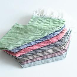 Sets de serviettes en tissu en Ligne-Tassel Serviette De Table De L'Ouest Mat famille pur coton tissu couverture gastronomique photo mis fond tissu décoratif