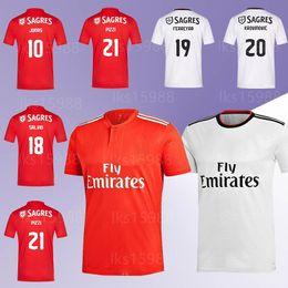 318623561c80 white sweats Coupons - Benfica Soccer Jersey 10 JONAS 20 KROVINOVIC 21  PIZZI 19 FERREYRR 18