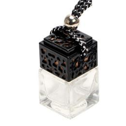 pendente di bottiglia di profumo dell'oro Sconti 8ml Svuotare Mini portatile di vetro d'oro / argento / pendente nero Elegante Decor Ornamento bottiglia di profumo riutilizzabile