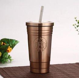 2019 amore caffè tazza Starbucks Vacuum Insulated viaggio tazza di caffè in acciaio inox Tumbler Sudore bottiglia caffè Tazza da tè Thermos Water