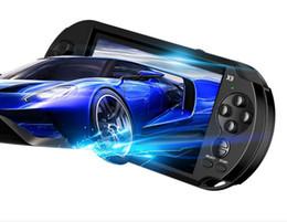 Canada Nouveau puzzle à écran couleur 5 pouces GBA jeu de l'écran de la console de jeu portable X9 arcade PSP chaude Offre
