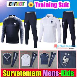 copo de uniforme Desconto França 2018 France World Cup Soccer Training Suit  Survetement Copa Do Mundo 0f08bf813510d