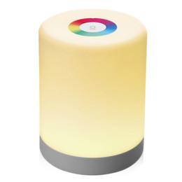 Lampada colorata Lightme Intelligent Touch Night Induction Dimmer Hook da