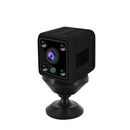 kamera ip wifi batterien Rabatt HD 1080P Mini-IP-Kamera Home Security eingebaute Batterie Wireless Smart WiFi-Kamera WI-FI-Überwachung Babyphone ohne TF-Karte