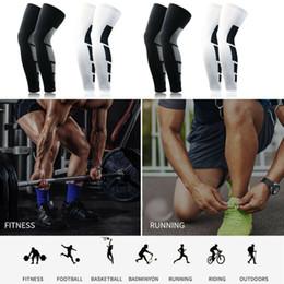 cuscinetti a gomito a maglia Sconti Compression Socks ginocchio Supporto Calze coscia del piedino della manica per gli uomini donne circolazione ortopedico di sostegno Calze aperte davanti