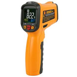 semi di mais all'ingrosso Sconti Nuovo PEAKMETER PM6530D termometro digitale a infrarossi igrometro con termometro elettronico di tipo K con sensore di temperatura elettronico a luce UV