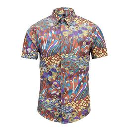 2019 cópia floral camisetas Estilo clássico italiano dos homens novos medusa camisa de cores de impressão floral casual harajuku camisa de manga longa dos homens cabeça medusa camisa cópia floral camisetas barato