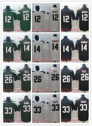 4eb312634ff MENS 2019 New New York #14 Sam Darnold #26 Le'Veon Bell #33 Jamal Adams  Jersey Stitched Retired Player 12 Joe Namath Football Jerseys S-3XL