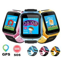 tracker baby Promo Codes - Q529 Smart Baby Watch Compatible IOS & Android SOS Call Watches Anti-Lost GPS Tracker Smart Watch for Kids Safety