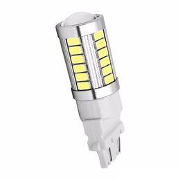T25 3157 P27 / 7W 33 SMD 5630 5730 LED Luci posteriori per auto 33SMD Motor Daytime Running Light Segnale di direzione bianco / rosso / giallo da