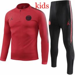 84e2b815918 2019 chándal de ropa deportiva para niños Chándal PSG nuevo Paris 2018 2019  KIDS traje de