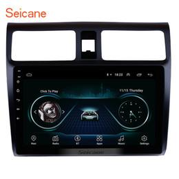 Roda de ligação on-line-10.1 polegadas android 8.1 HD tela de toque GPS Navad carro autoradio para 2005-2010 Suzuki Swift com Link Espelho Wifi apoio controle de volante