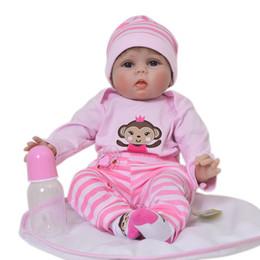Reborn Dolls Giocattoli da 22 pollici 55 cm morbido corpo silicone bambole del bambino rinato neonati ragazza viva bebe bambola reborn realista bonecas da
