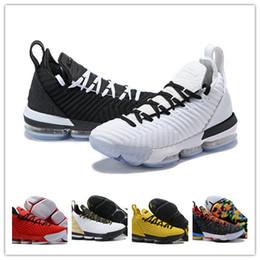 2019 yeni erkek 16 s eşitlik basketbol ayakkabıları shoes de basket ball james spor ayakkabı taht kral oreo new-lebron 16 eşitlik cheap watch balls nereden topları izle tedarikçiler