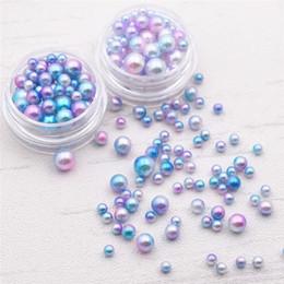Boule en plastique globe en Ligne-ewelry Accessoires Accessoires de bijoux Composants une boîte en plastique perles de perles 2.5-5.5mm perles mélangées de billes minuscules pour globe de verre Résine Silicone ...
