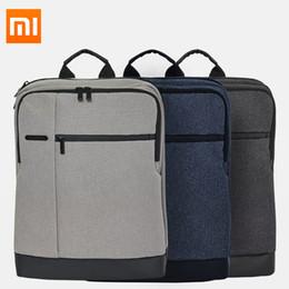 Nuovo Xiaomi 90 Fun Classic Business Travel Backpack Zaino per laptop da 15,6 pollici impermeabile di grande capacità Zaino casual per scuola da caricatore del usb 5w fornitori