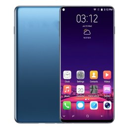 mms mp3 Promo Codes - ERQIYU Goophone S10 S10+ unlocked Shown 4G LTE Octa Core 6.4inch Android 9.0 Smartphones 5G RAM 512G ROM Cell phones