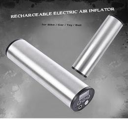 2019 eu plug mini cargador de coche Zeepin 150 PSI Inflador de aire Mini bomba inflable Recargable Eléctrico EE. UU. Enchufe de la UE Cargador USB Pantalla digital Luz LED para coche eu plug mini cargador de coche baratos