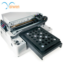 uv print case Promo Codes - Top sale Automatic A3 UV Flatbed Printer leather Metal phone case printing machine for sale
