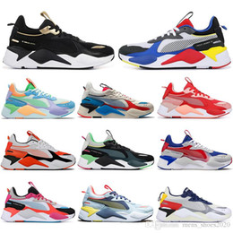 Puma mit SockenPuma rs x reinvention Spielzeug Schuhe für Männer Frauen Trophy Weiß blau beste Qualität Mens Trainer sports Turnschuhe laufen