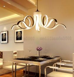 2019 amerikanische posten Kreative Mode LED Kunst Pendelleuchten, Einfache Persönlichkeit American Inn Postmoderne Lichter Beleuchtung Für Restaurant Hotel Wohnzimmer rabatt amerikanische posten