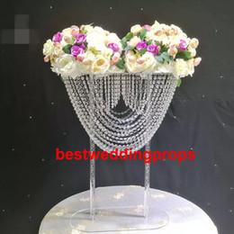 centrotavola e centrotavola per matrimonio, vaso tromba in cristallo acrilico per matrimoni best0995 da matrimoni acriliche di vasi fornitori