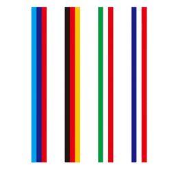 Disegno dell'autoadesivo della decalcomania del corpo dell'automobile online-Fashion Design 7.5 cm * 25 metro M tipo Germania Italia Francia bandiera striscia auto cofano adesivo decalcomania del corpo per BMW Z4 M3 M5 M6 E46 serie
