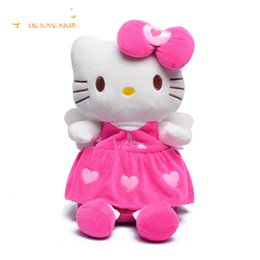 53f1bb6e5 Korean Style Hello Kitty Plush Children School Bag Lovely Cartoon Backpack  For Girls Boys Mochila For 1-4years Pt697