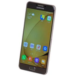 grátis iphone 5c desbloqueado Desconto Original recondicionado samsung galaxy c7 c7000 desbloqueado telefone celular 32 gb / 64 gb 16mp 5.7 polegada dual sim android 6.0